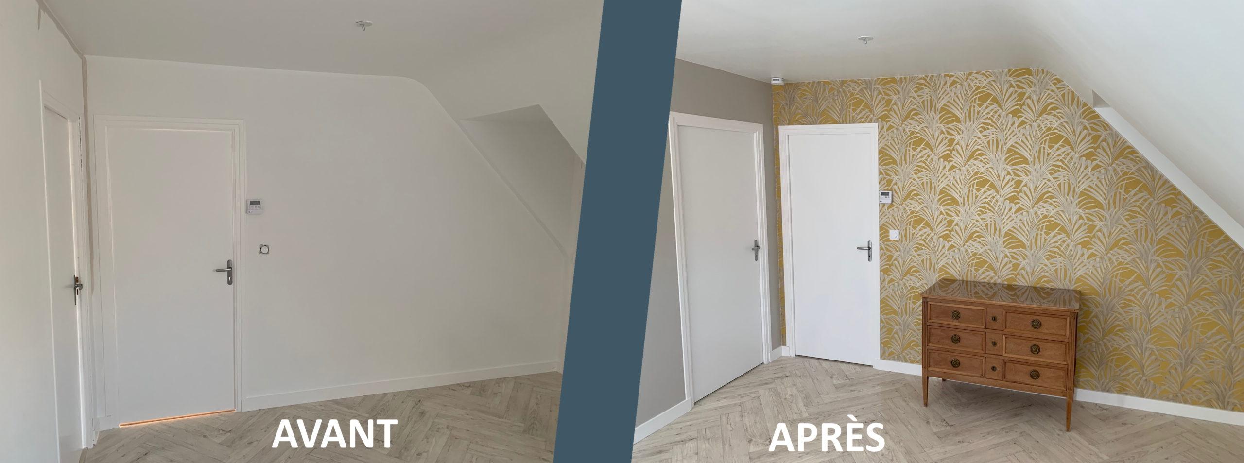 Avant/après rénovation intérieure