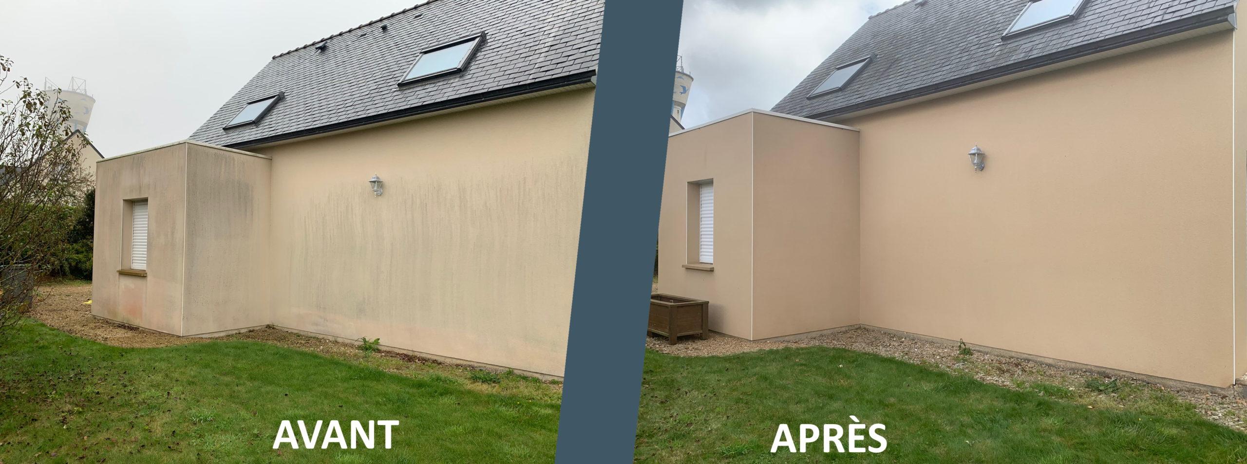 Avant/après rénovation extérieure